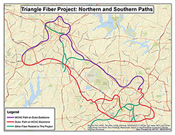 Triangle Fiber Map