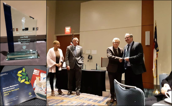 MCN General Counsel Sean Doyle honored by the City of Raleigh