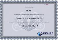 MCNC Certificate
